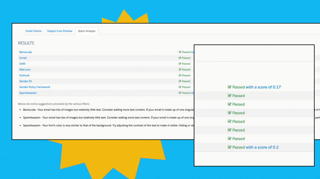 testing emails for responsiveness and spam triggers in pardot