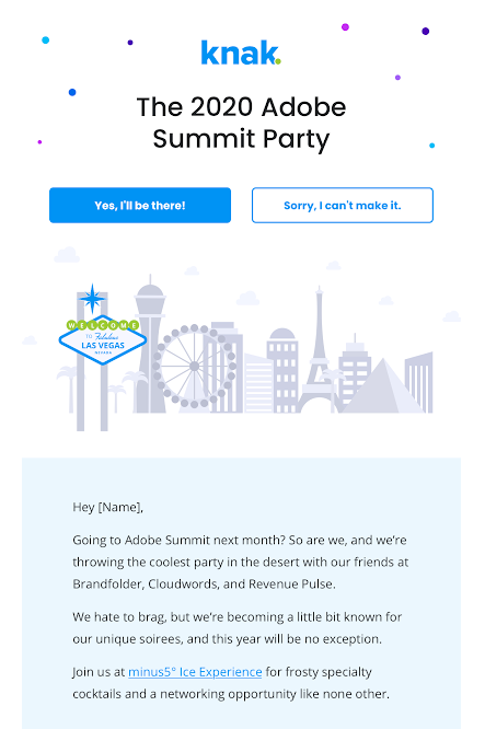 Summit Party Partner Email